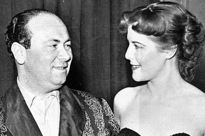 Peter Rachman z żoną-Rachmanizm-lata-50-Londyn