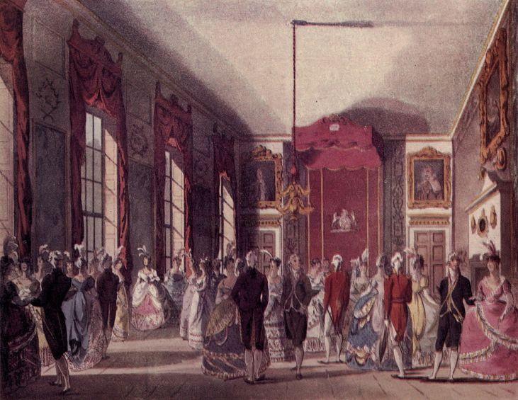 Ball-w-pałacu-królewskim-St James's-sezon-towarzyski-Londyn