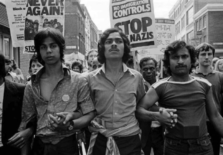 British-Bengali-Altab-Ali-demonstracja-Whitechapel-Londyn