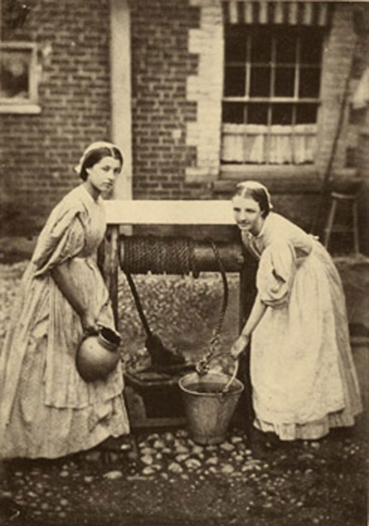 Wiktoriańskie-pokojówki-służące-19-wiek-Londyn