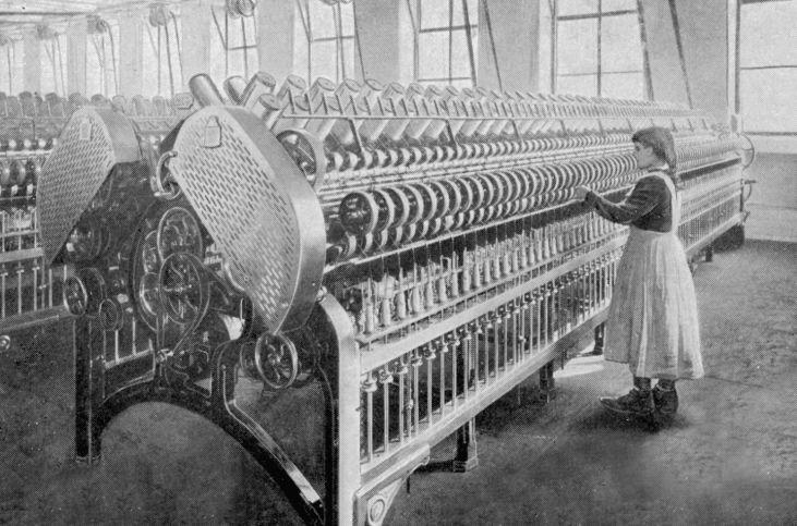 Praca-dzieci-przędzalnia-rewolucja-przemysłowa-Anglia