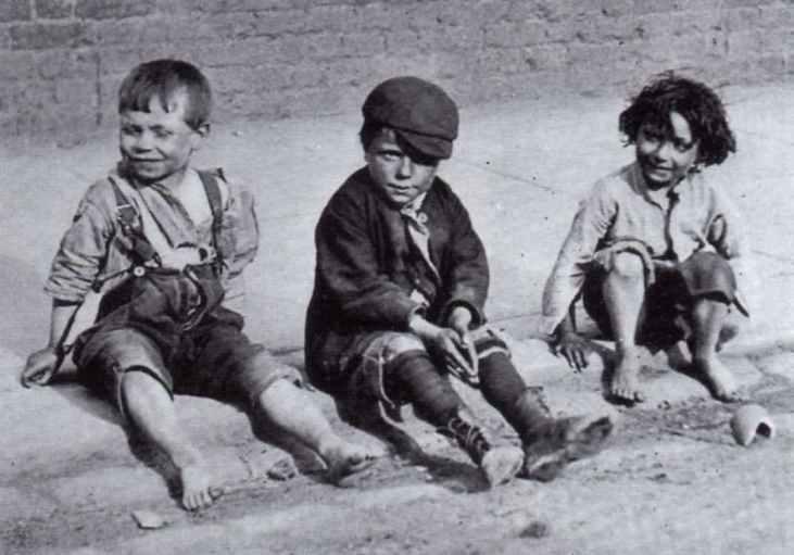 Dzieci-na-ulicy-Londyn-1890