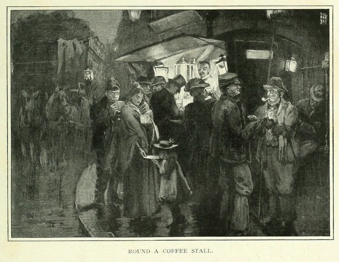 dieta-biedoty-miejskiej-stoisko-z-kawą-Londyn-19-wiek