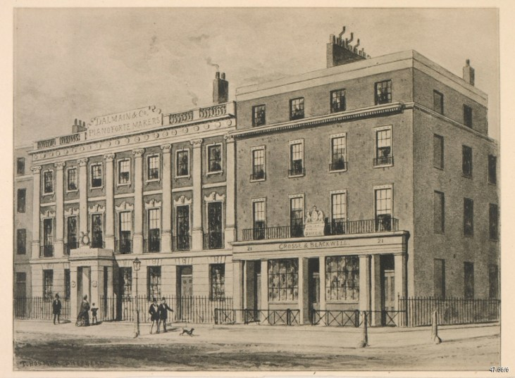 Crosse-&-Blackwell-Soho-Square-1854-London