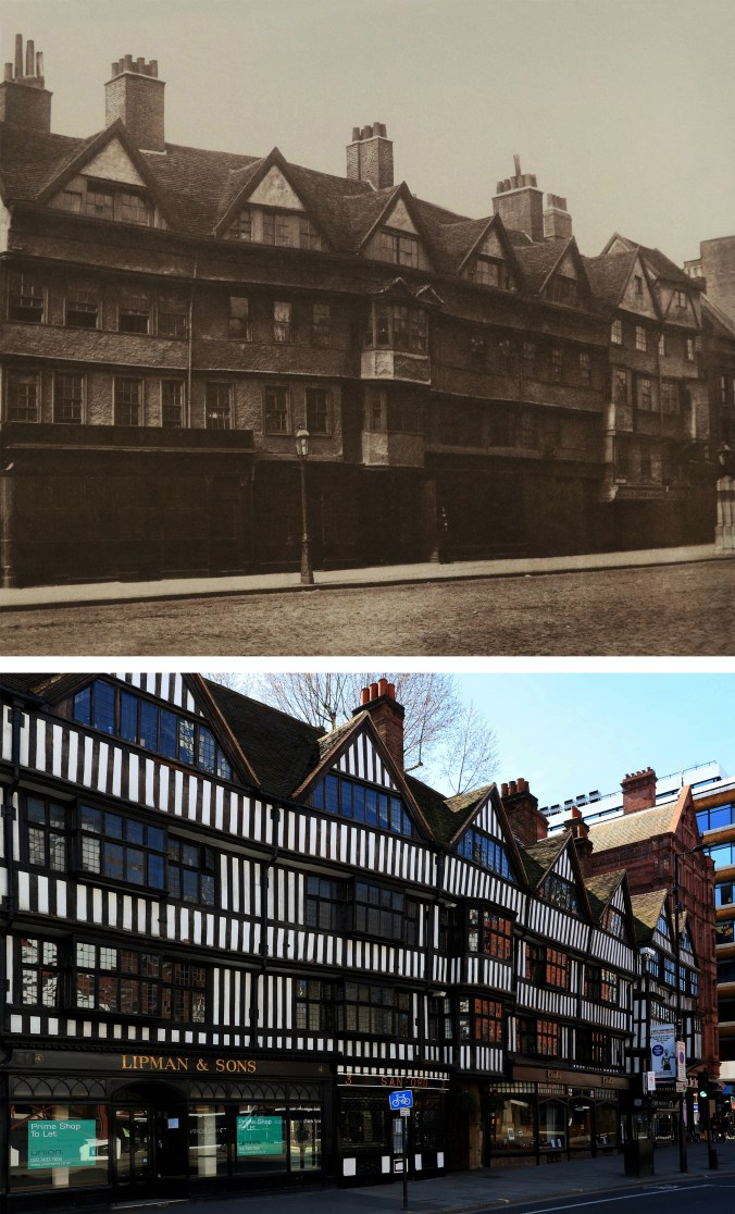 Staple-Inn-Holborn-Londyn-kiedyś-i-dziś