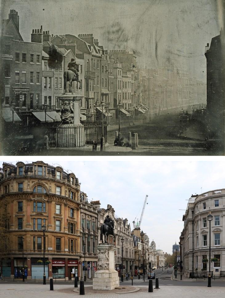 trafalgar-square-Londyn-kiedyś-i-dziś