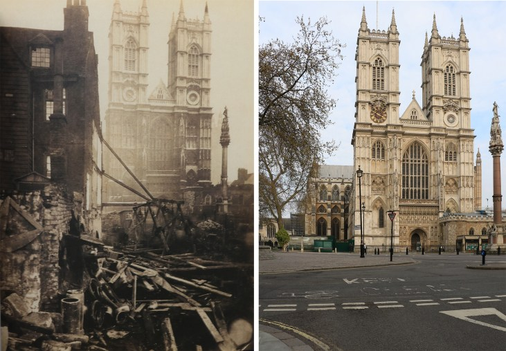 westminster-abbey-1866-Londyn-kiedyś-i-dziś