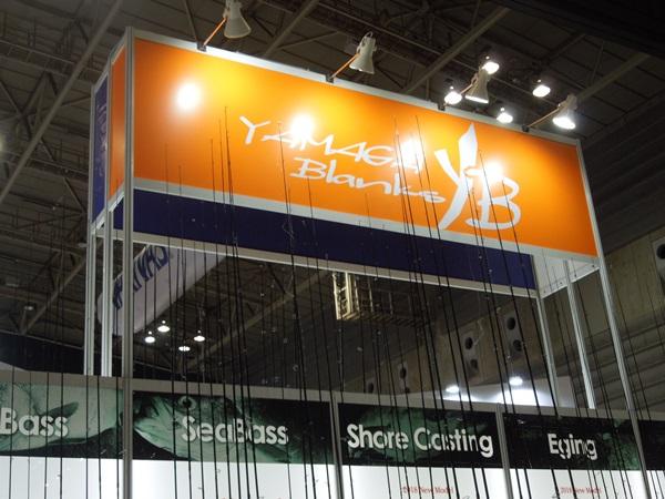 ジャパンフィッシングショー2018:ヤマガブランクス