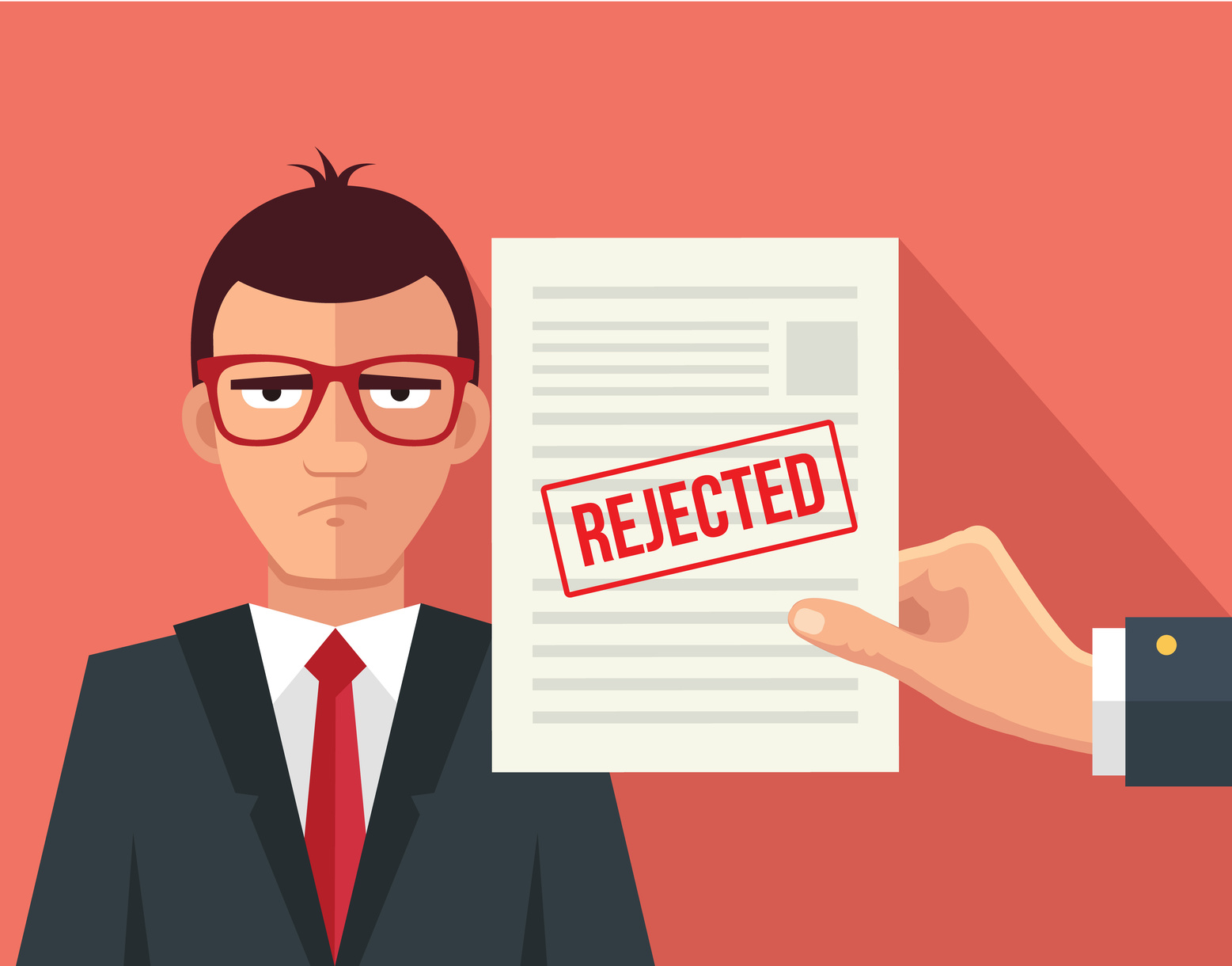 rejecting a job offer