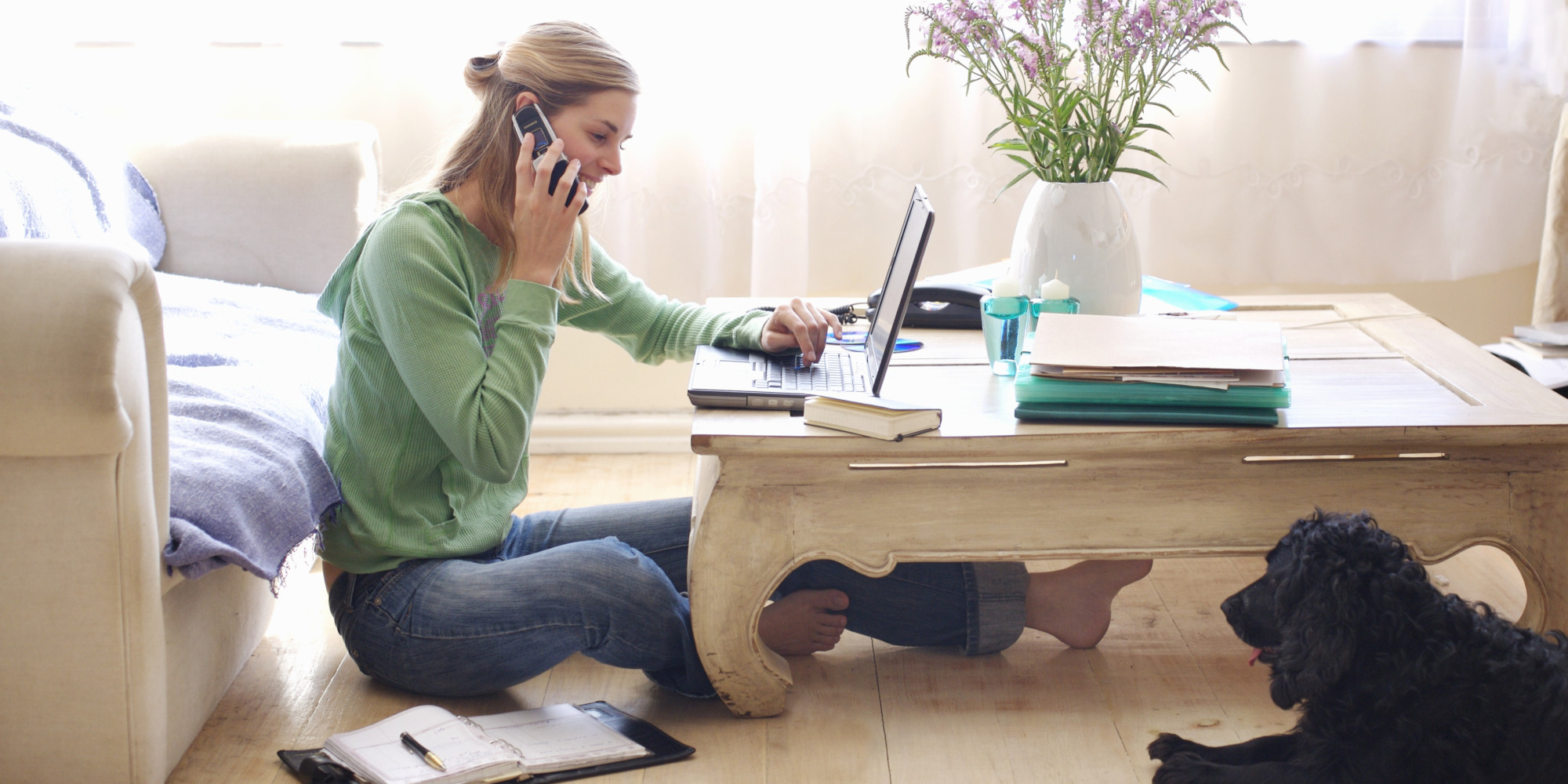 How to focus on work at home