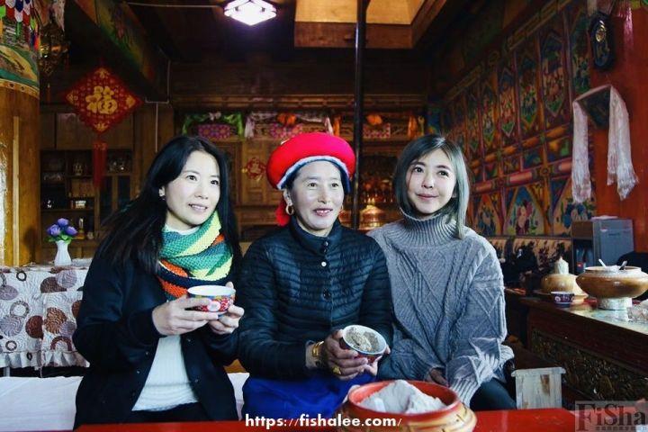 藏民的家中