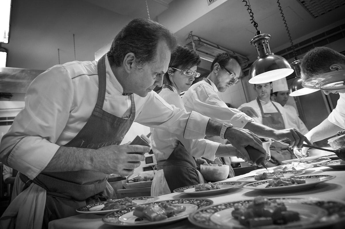 Fish & chef- 2015 - Nicola e Luigi Portinari - Ristorante Capriccio - Manerba del Garda