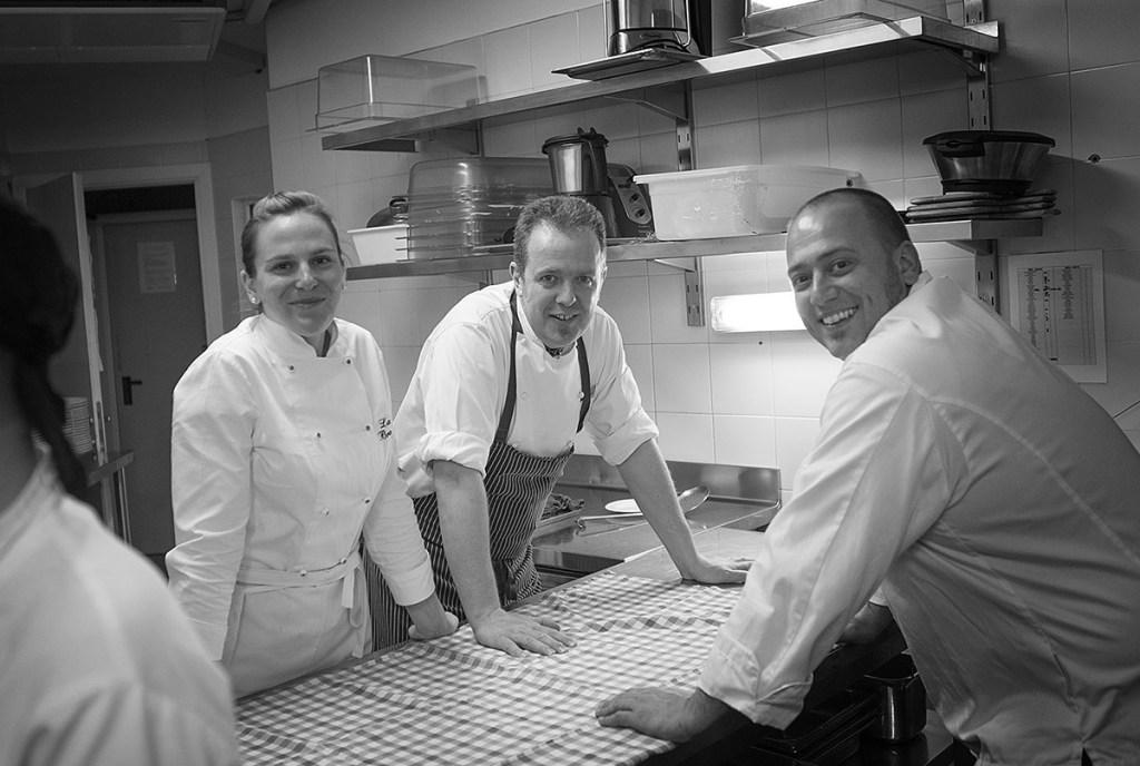 Dream Team 2015 - Fish&chef - Casa degli Spiriti - Costermano