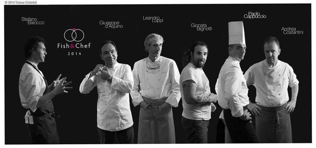 fishe and chef 2014 - dream team - COrte Cavalli Cavaion Veronese