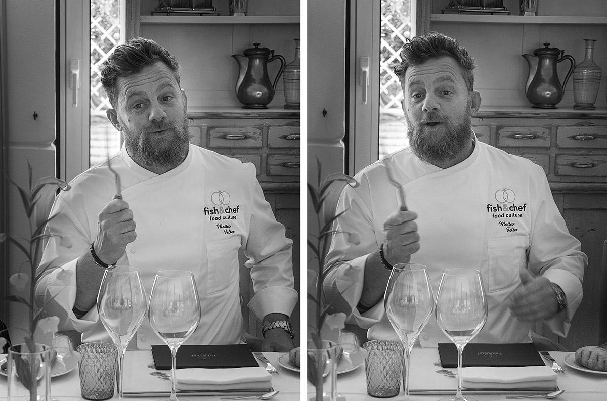 fish&chef edizione 2017 - gourmet sul lago di Garda - Dream Team - Matteo Felter