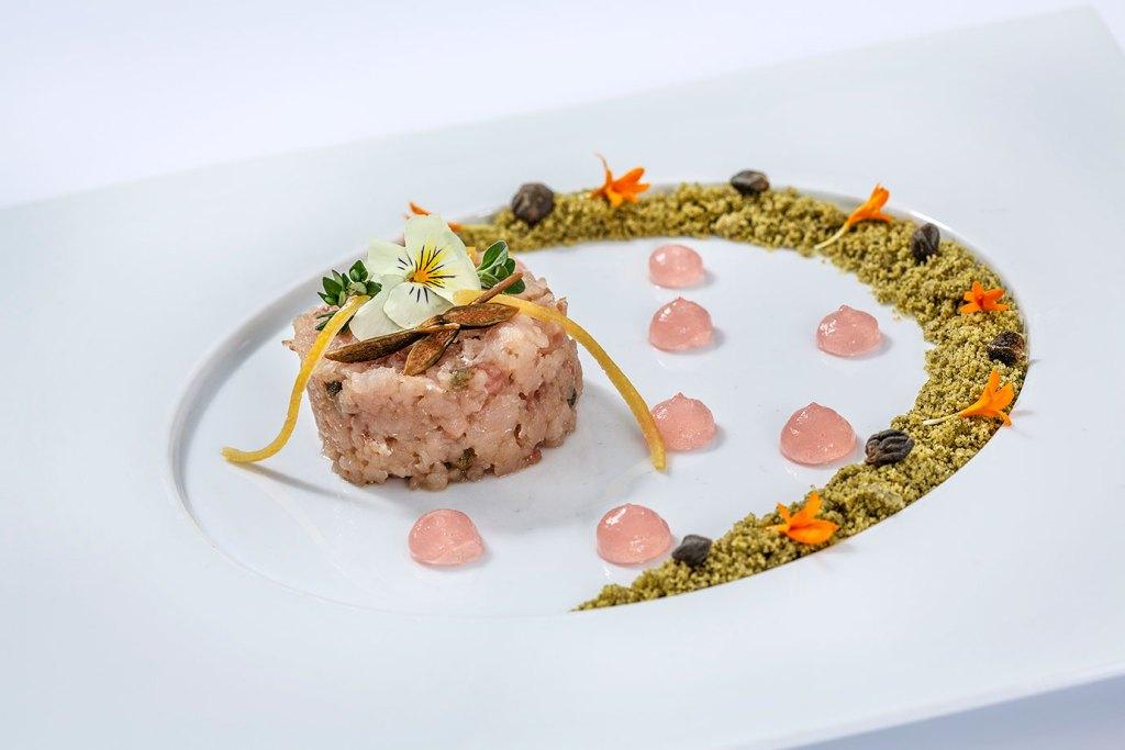 Dream Team: ricetta chef alberto bertani coregone