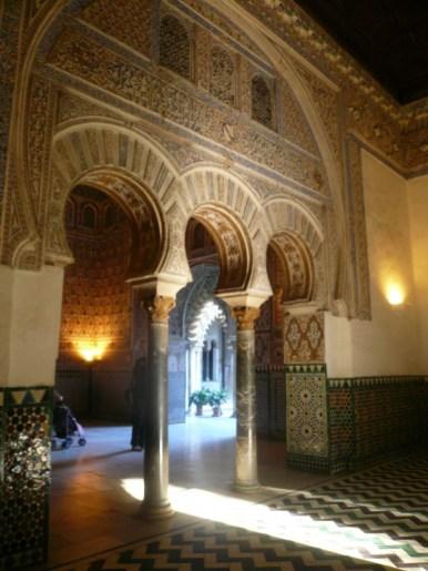 Dans l'Alcazar de Séville