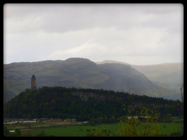 panorama sdepuis le chateau de Stirling
