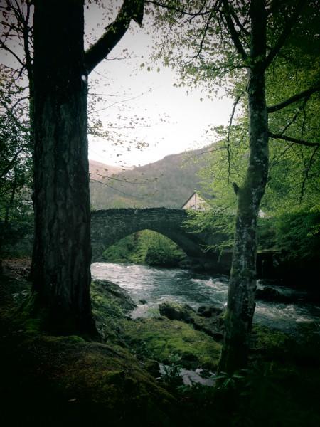 pont de pierre à Glencoe