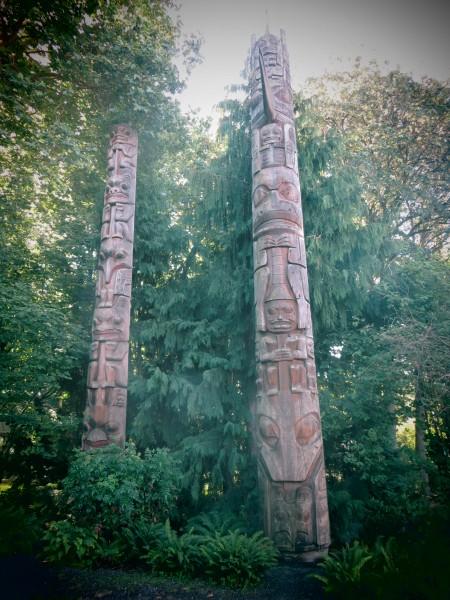 totem au Burke Museum - Seattle