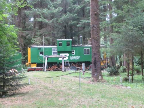 wagon maison dans la forêt - Olympic National Park
