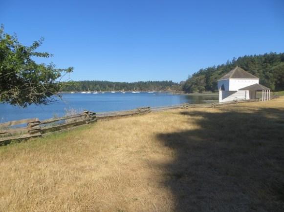 English Camp sur San Juan Island - USA