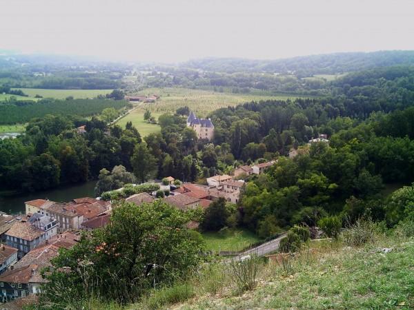 panorama de Saint-Martory