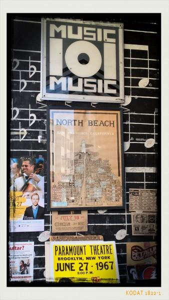music shop dans Little Italy - San Francisco