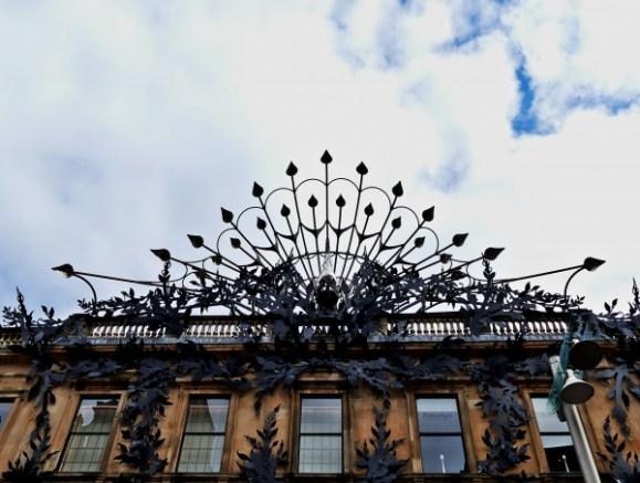 façade décorée - Glasgow