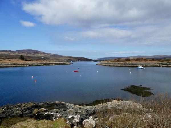 paysage de l'île de Mull (Ecosse)