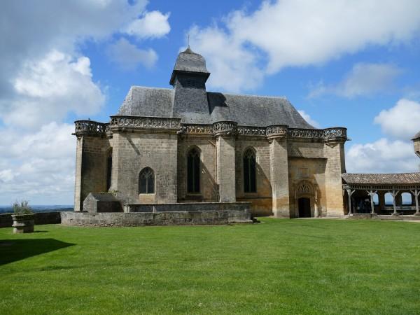 chapelle du château de Biron en Dordogne
