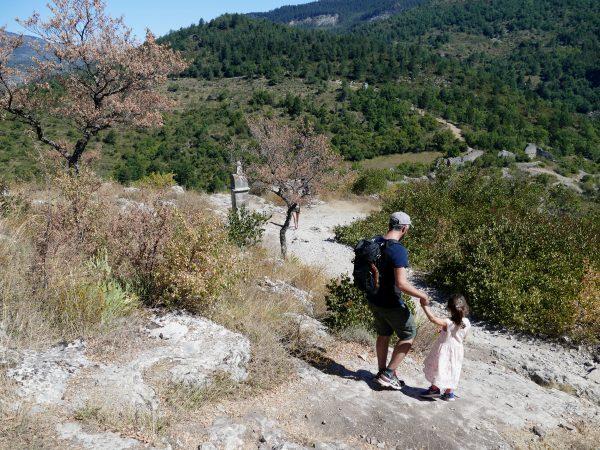 chemin du Roc de Castellane