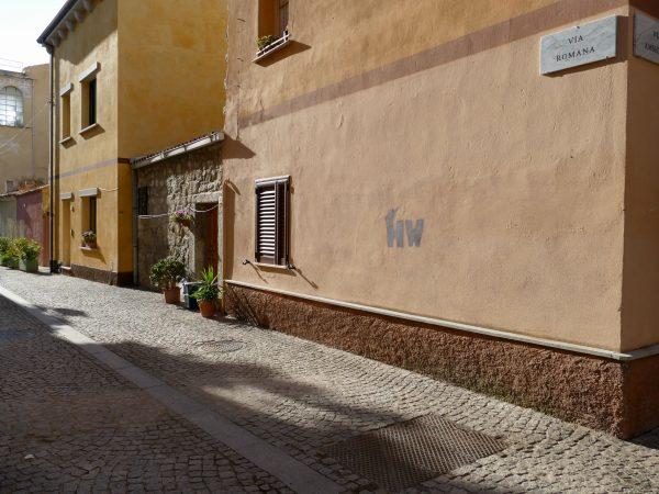 ruelle d'Olbia en Sardaigne
