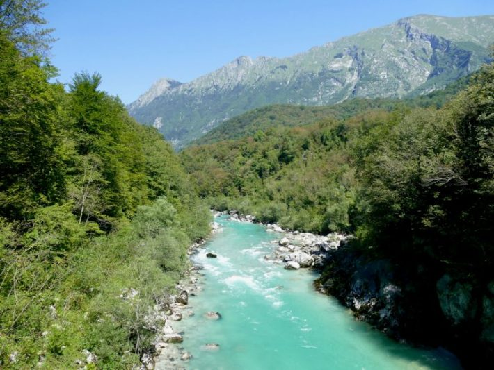 vallée de la soça en slovénie