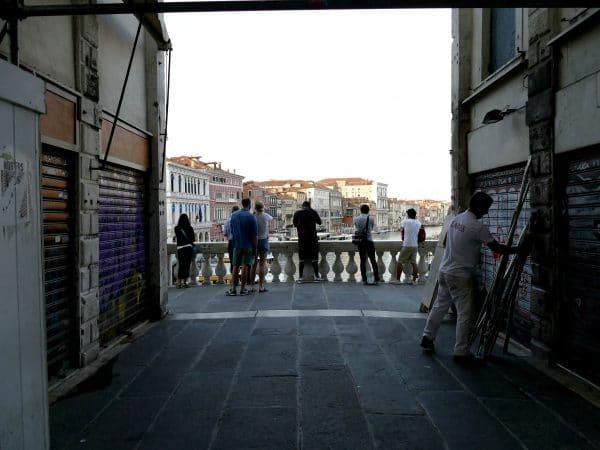 Sur le pont du Rialto
