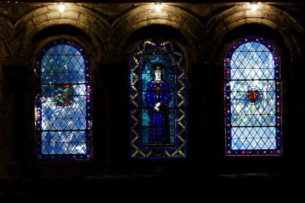 vitraux de la cathédrale Saint-Etienne / Agde