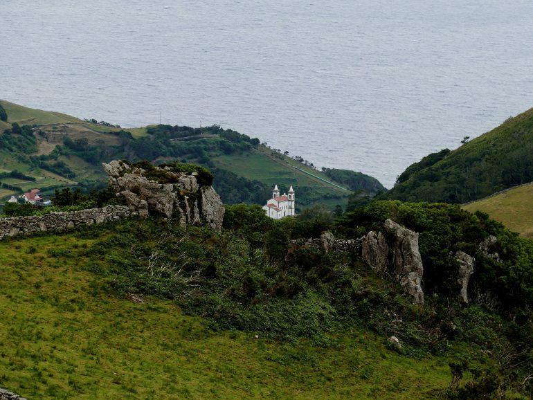 centre de l'île de Flores (Açores)