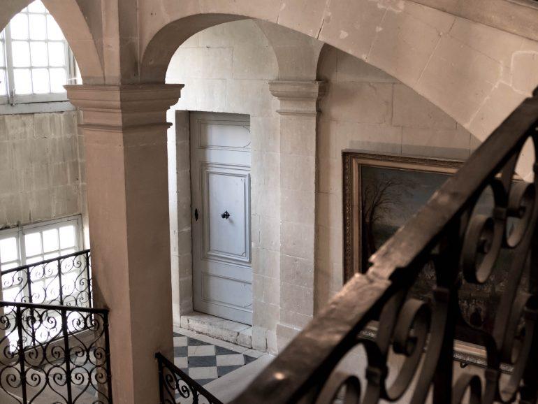 escalier - château d'Ussé à Rigny-Ussé