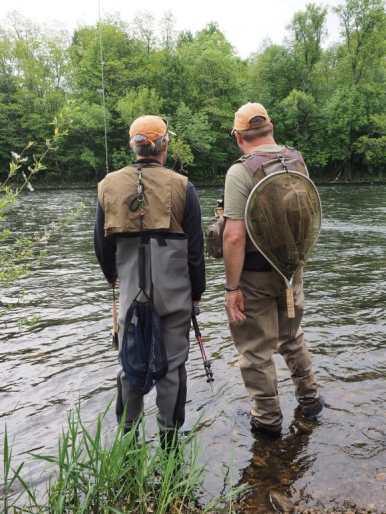 pêcheurs à la mouche