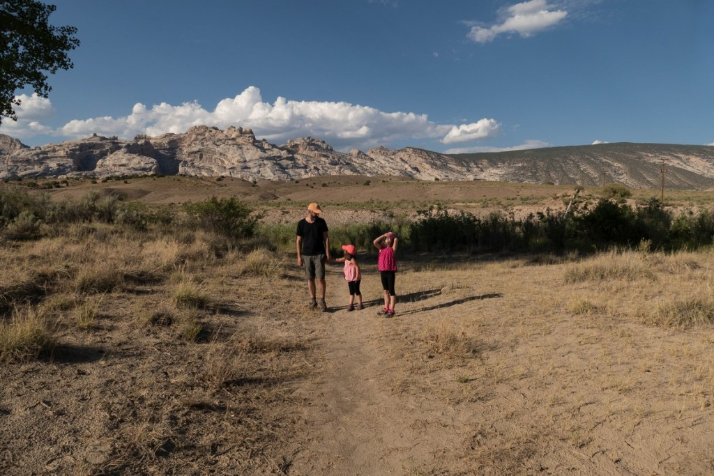 camping green river - Dinosaur National Monument