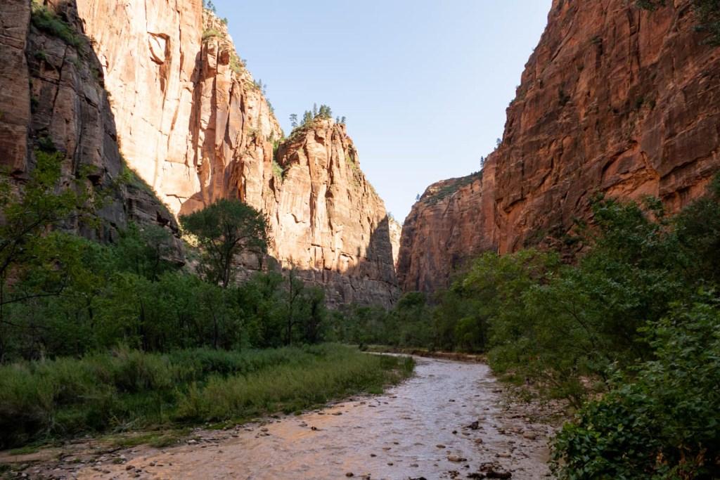 Riverside Walk - Virgin River - Zion