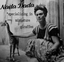 Nada Giraffes