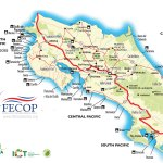 General Costa Rica Information And Fishing Map Costa Rica Fishing Fecop