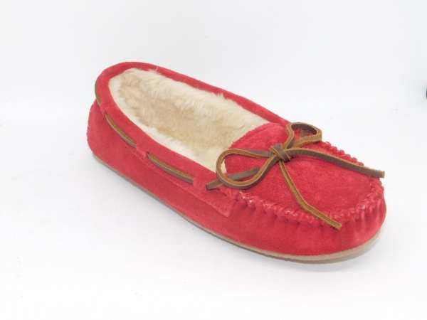 womens slippers cally red 4016