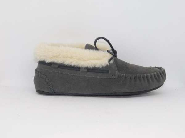 womens slippers chrissy grey 40035