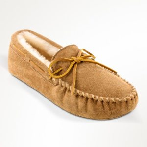 mens slippers sheepskin softsole tan 3711