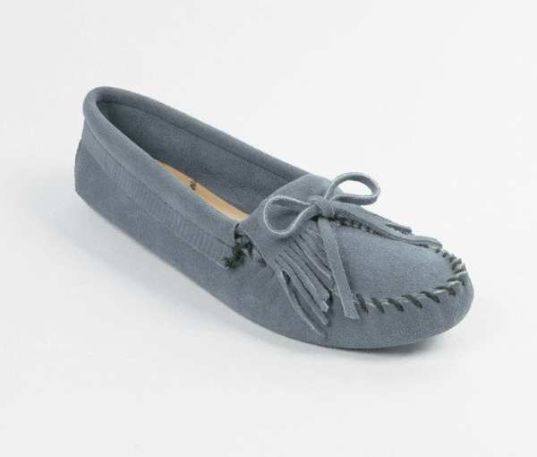 womens mocs kilty storm blue softsole 409
