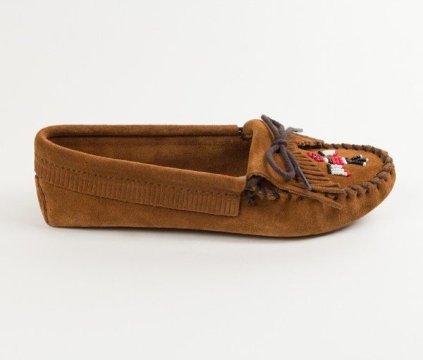 womens mocs thunderbird softsole brown 152