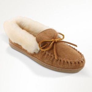 womens slippers alpine sheepskin tan 3371
