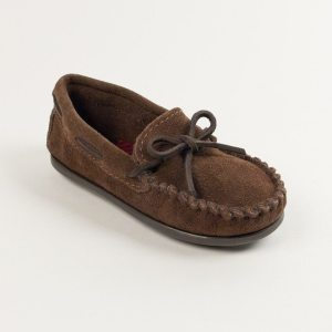 minnetonka boys moc chocolate 2773